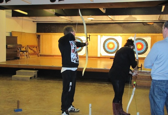 greenwood archers beginners course 2013 1