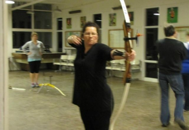 greenwood archers beginners course 2013 3
