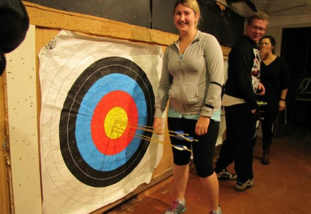 greenwood archers beginners course 2013 4